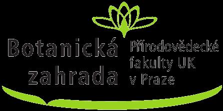 Logo Botanické zahrady Přírodovědecké fakulty UK